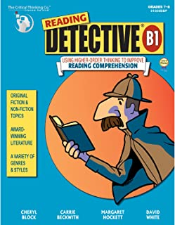 The Critical Thinking Reading Detective Book B School Workbook