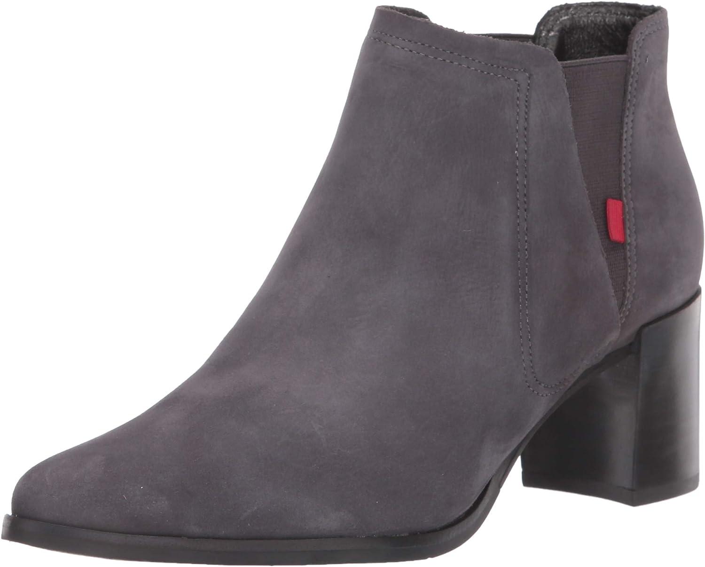 Outlet SALE Marc Joseph New York Women's Genuine Heel with Block Leather Ela Overseas parallel import regular item