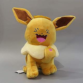 アニメポケモンeeveeぬいぐるみドールのおもちゃ30cm、趣味コレクション人形kawaiiギフト Eternal swan song