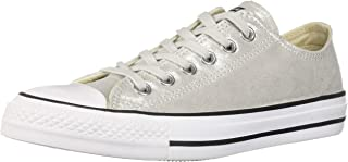 Converse Women's Unisex Chuck Taylor All Star Shimmer Canvas Low Top Sneaker