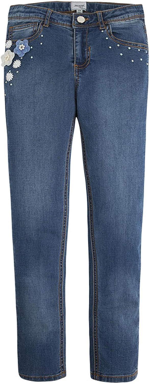 Max 90% OFF online shopping Mayoral Tween Girls 7-18 Basic Jea Blue Denim Embellished-Pocket