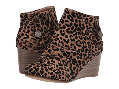 Blowfish Berkeley (Caramel Leopard Ojai PU) Women