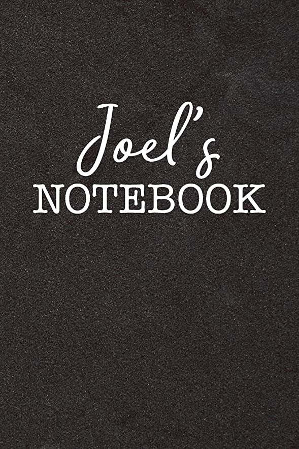 体細胞銀河首Joel's Notebook: Personalized Scrapbook for Men