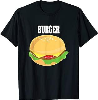 Cheeseburger Halloween Costume Hamburger T-Shirt