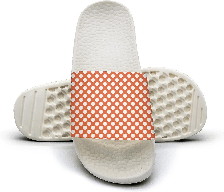 Ina Fers.Slide Sandals For Women Dot pattern Indoor Bath Slipper Anti-Slip House Sandal