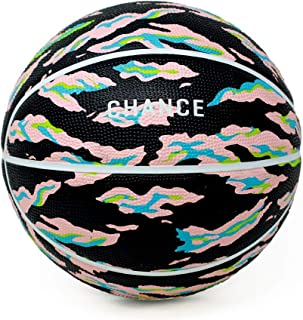 Chance Premium Rubber Outdoor / Indoor Basketball (Size 5 Kids & Youth, 6 WNBA Womens, 7 Mens NCAA & NBA Basketball) (Size 27.5, 28.5, 29.5)