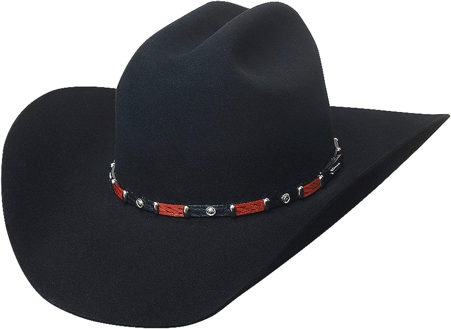 Bullhide Hats 0661Bl Breakaway 10X 7 1/2 Black Cowboy Hat