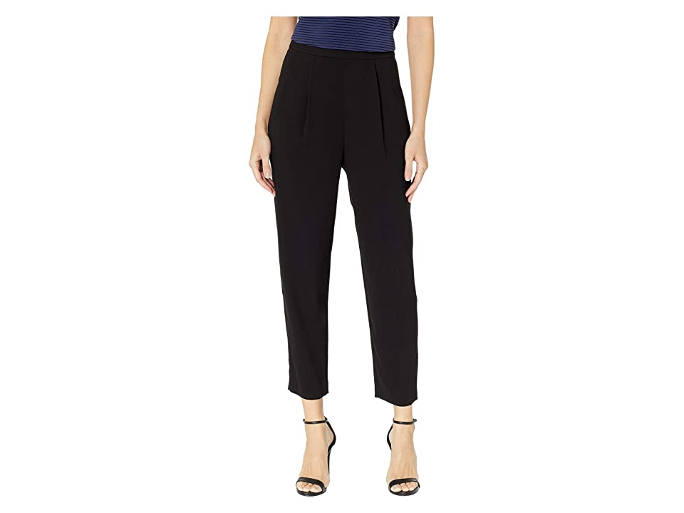BCBGMAXAZRIA Woven Long Pants (Black) Women