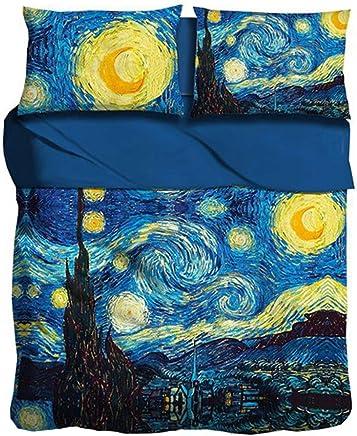 Copripiumino Bassetti Notte Stellata.Amazon It Van Gogh Notte Stellata Tessili Per La Casa Casa E Cucina