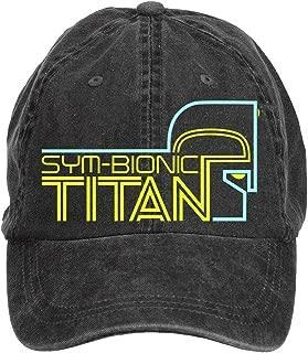 Unisex Sym-Bionic Titan Logo Hip Hop Baseball Caps