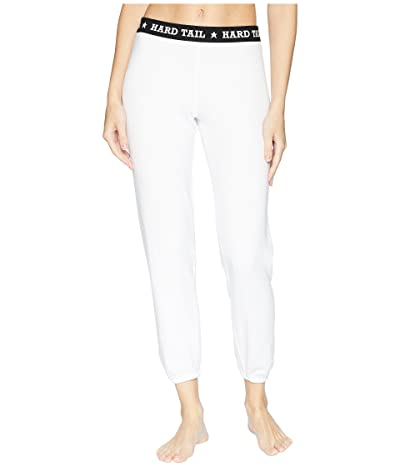 Hard Tail Logo Pants (White) Women