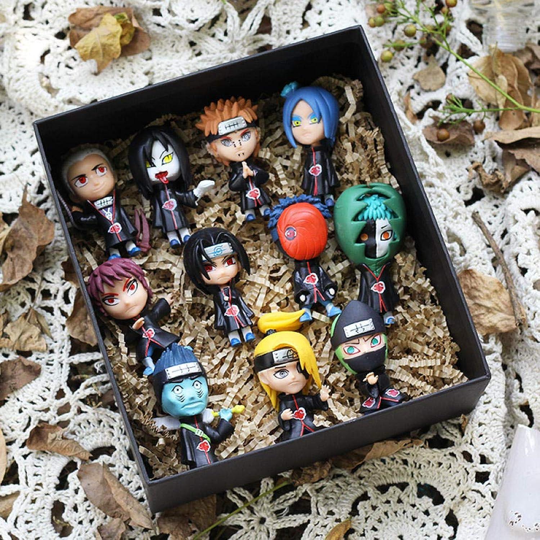 Duanqiaocanxue He bambola bambola modellolo Chassis auto bambola Anime Periferiche bambola Set da Dieci Set