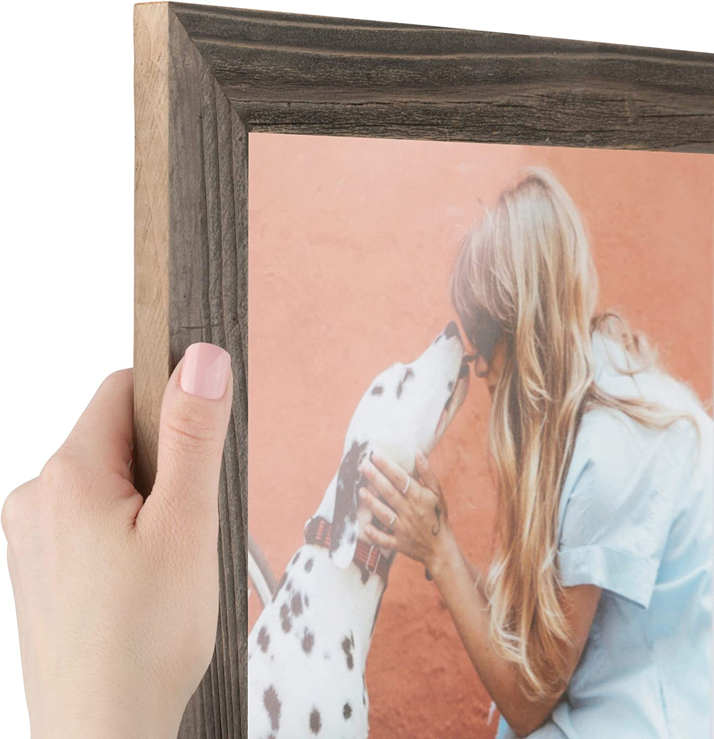 ArtToFrames 10x13 Inch Brown Picture Frame Custom It is very popular Manufacturer direct delivery 1.5