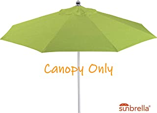 Casual Choice 9ft Round Universal Canopy Replacement for Market Umbrella (Sunbrella- Macaw)