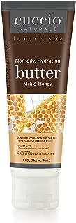 Cuccio Naturale Spa Milk and Honey Butter 4 Ounce