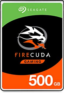 Seagate FireCuda 500GB Solid State Hybrid Drive Performance SSHD – 2.5 Inch SATA 6Gb/s Flash Accelerated for Gaming PC Lap...