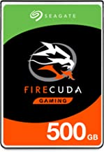 Seagate FireCuda 500GB Solid State Hybrid Drive Performance SSHD – 2.5 Inch SATA 6Gb/s Flash Accelerated for Gaming PC Laptop – Frustration Free Packaging (ST500LX025)