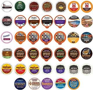 40 Count BOLD & DARK ROAST COFFEE Single Serve Cups For Keurig K-Cup Brewers Variety Pack Sampler (Bold Sampler)