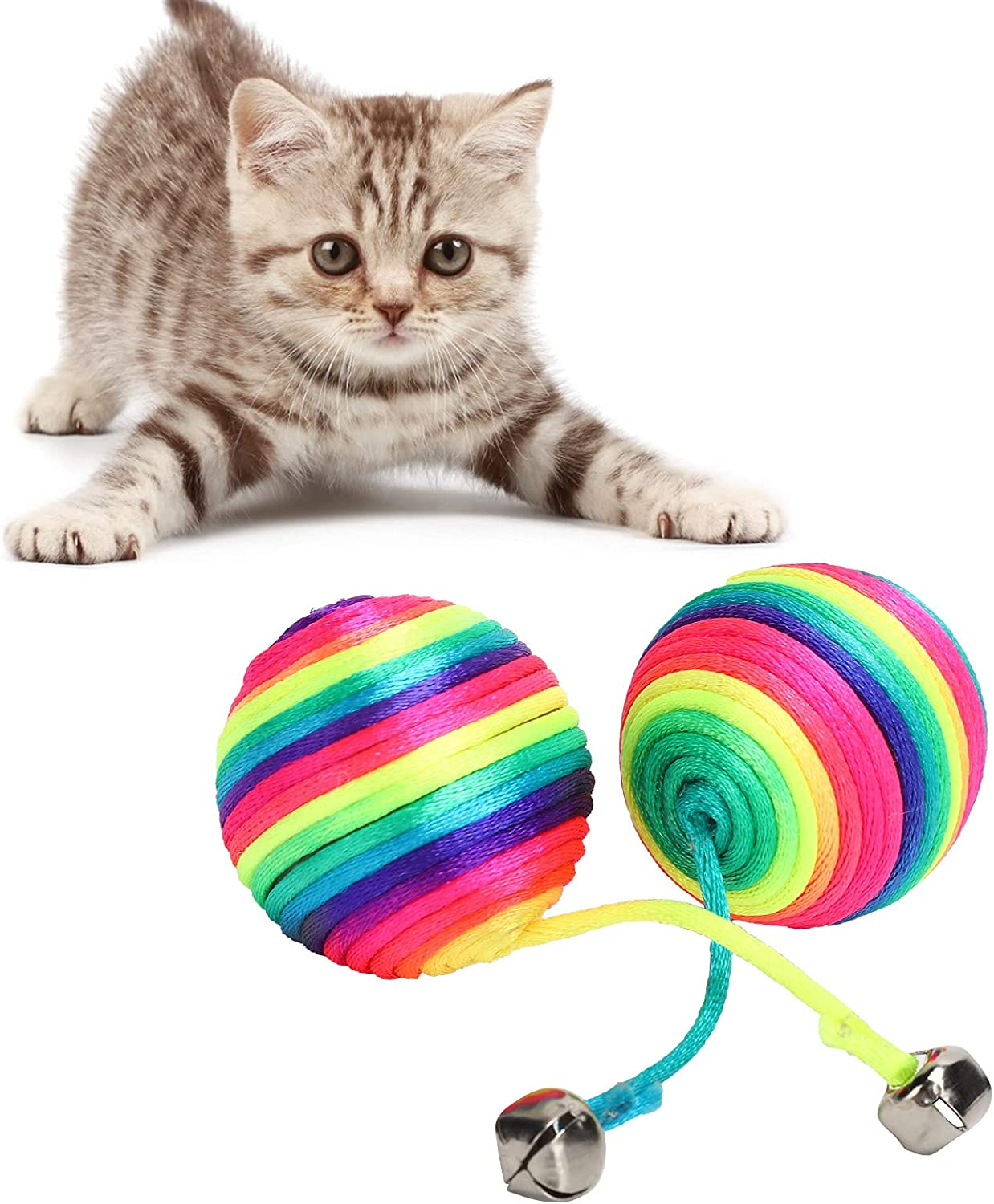 Bell Ball Toy for Max 49% OFF Pet and Colo Sale SALE% OFF Non‑Toxic Safe Design