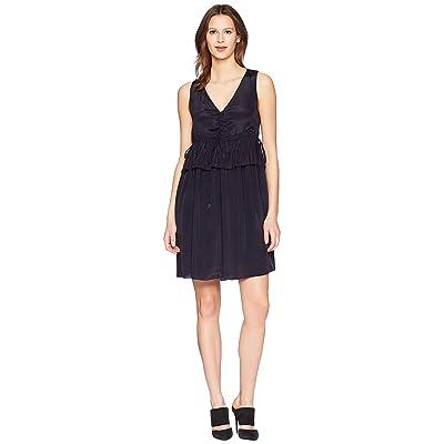 See by Chloe Dress with Ties (Ink Navy) Women