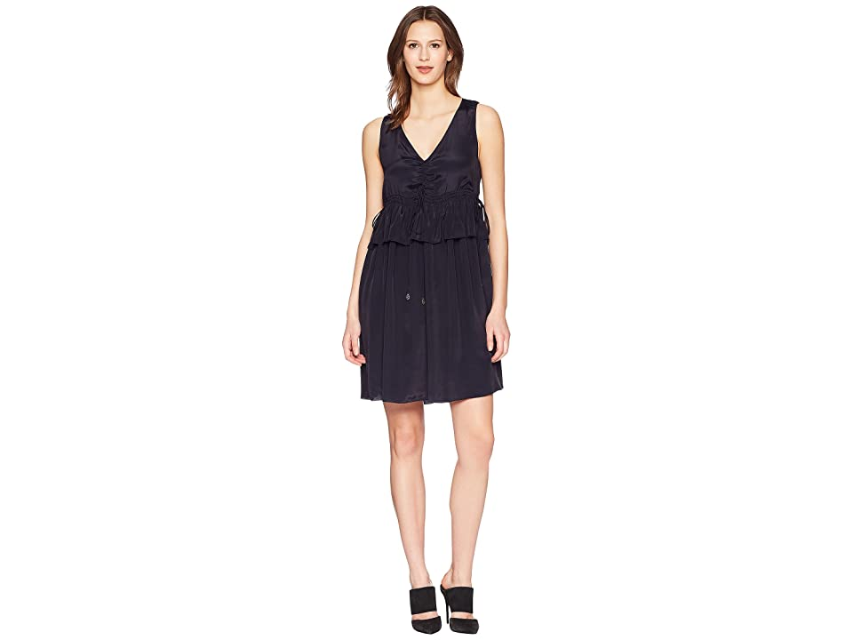 68cb8ad5d50 See by Chloe Dress with Ties (Ink Navy) Women s Dress