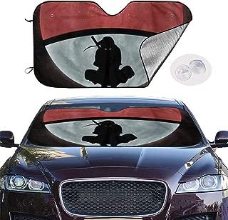 YQLDFB Car Windshield Sunshade Naruto Sun Heat Shield Shade UV Ray Visor Protector, Keep Vehicle Cool