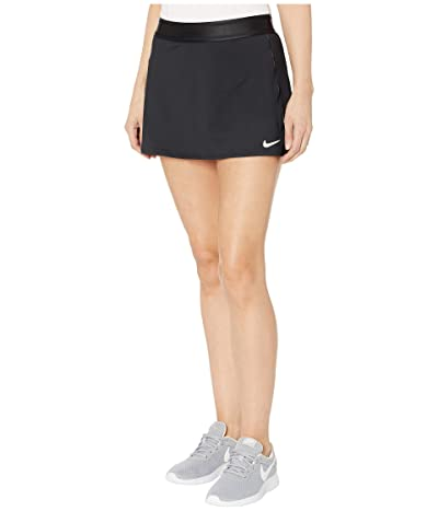 Nike Court Dry Skirt Stretch (Black/Black/Black/White) Women