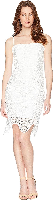 Bardot Womens Spiral Lace Dress