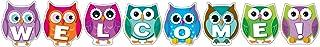 Carson Dellosa Colorful Owl Welcome Bulletin Board Set (110192)