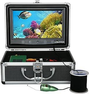 GRXXX Finder bajo al Agua Finder HD Subatwater cámara de 9 Pulgadas TFT Pantalla DVR Función 1000 TVL Kit de cámara subacu...