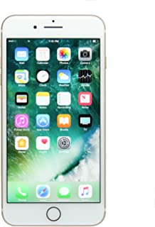 Apple iPhone 7 Plus, 128GB, Gold - For AT&T (Renewed)