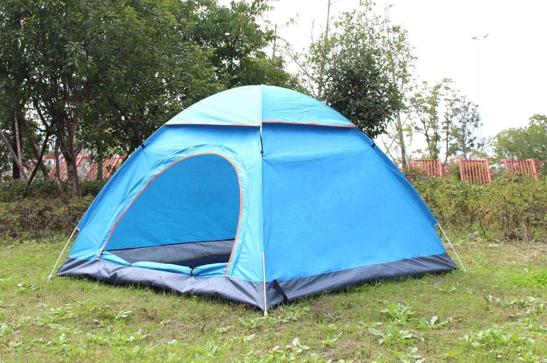DONGYUA Automatisches Schnellöffnungszelt 3-4 Person Outdoor Oxford Tuch Wasserdichte Windjacke Warm halten 200  200  130cm B07QSJ1FHX  Große Klassifizierung