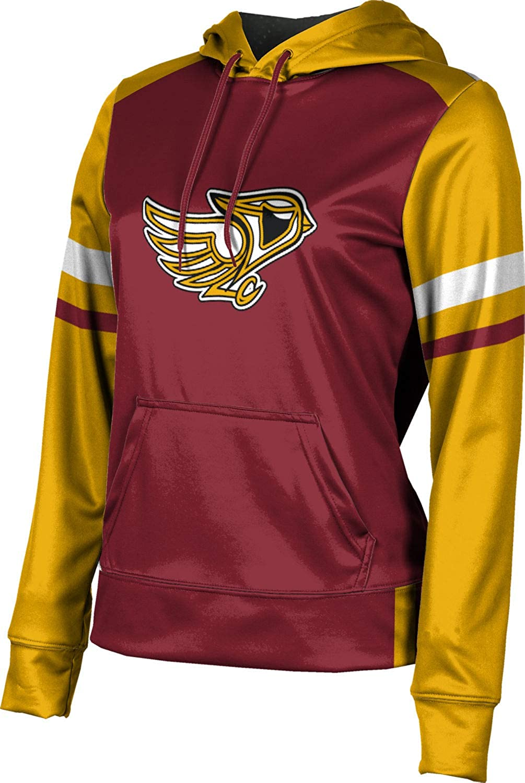 ProSphere Davison High School Girls' Pullover Hoodie, School Spirit Sweatshirt (Old School)