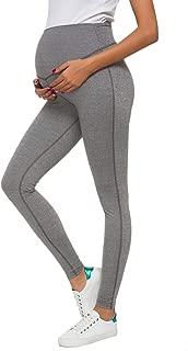 CareGabi Women's Maternity Pants Lounge Comfy Yoga Pants Lounge Trousers for Pregnant Women