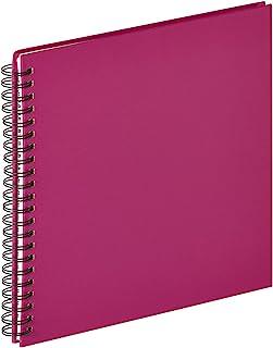 Walther Design Spiralalbum Fun Violett, ohne Ausschnitt Álbum Espiral Diversión, Cinta estructurada, Violeta, 30 x 30 cm