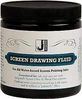 Jacquard Screen Printing Drawing Fluid 8 Ounces