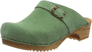 Sanita | Clogs Hedi Professional Open | Original Handmade Flexible Leather Clogs for Women