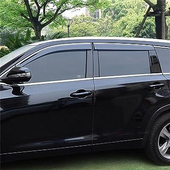 WeatherTech Side Window Deflector for Select Toyota Highlander Models