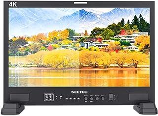 SEETEC LUT215 21.5インチ 3D LUT 監視モニター 3G-SDI 4K HDMI入力出力 250cd/m² ビデオ撮影モニター 1920x1080 戸外撮影とポストプロダクション用に設計され