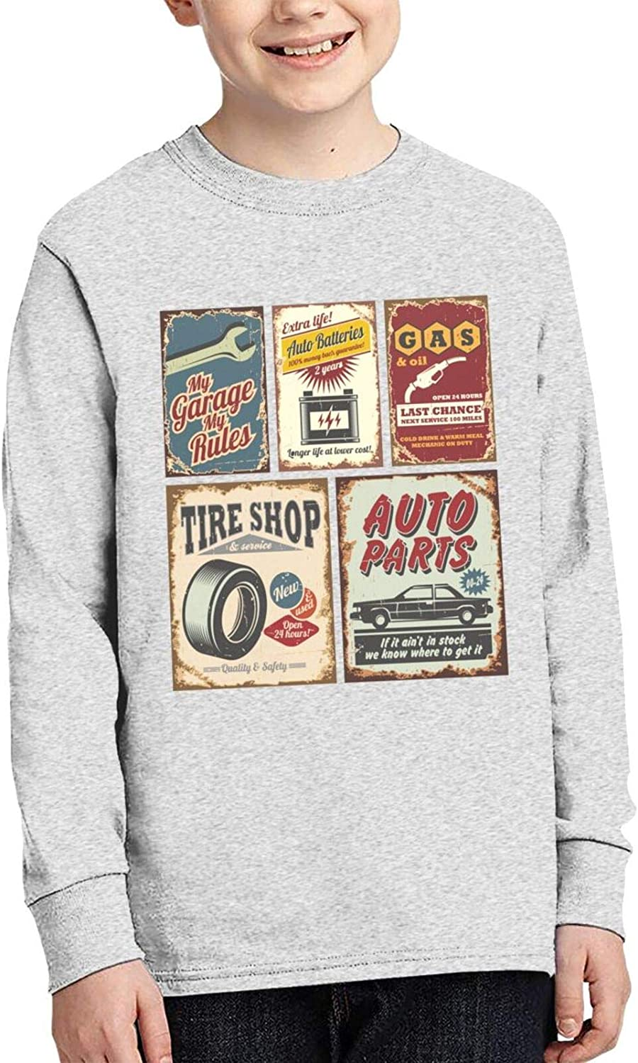 Vintage Car Service Charlotte Mall Sweater Fashion and Comfortable S Save money Children's