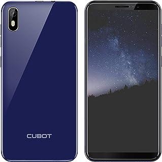 CUBOT J5 Doble SIM Smartphone 55 Pulgadas (1397cm) Pantalla Táctil CapacitivaAndroid 9.0 Operativo2GRAM+16GROM2800mAhBateríaProcesador Cuatro NúcleosIdentificación de Cara(Azul)