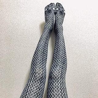 Snakeskin Pattern Socks 3D Printed Snake-Print Tights Stockings Leggings Pantyhose,Polyester Fiber