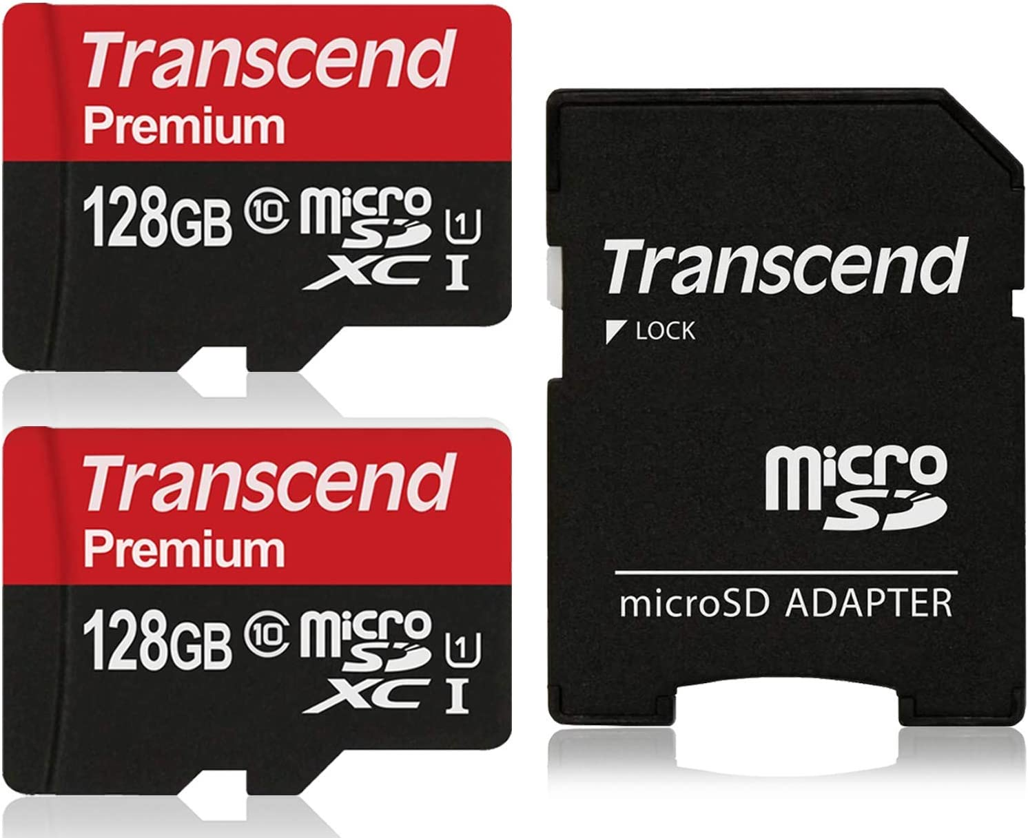 Transcend 128GB New Shipping Free Shipping x2 256GB MicroSDXC Class10 Card Max 45% OFF UHS-1 w Memory