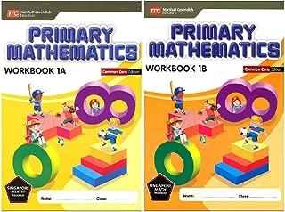 Primary Mathematics Workbook Bundle 1A+1B (Common Core Edition)