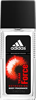 Adidas Fragrance Body Fragrance, Team Force, 2.5 Fluid Ounce
