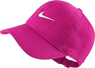 c46dd1c1ae75a NIKE Young Athletes New Swoosh Heritage Adjustable Hat (Lethal Pink  (546178-635)