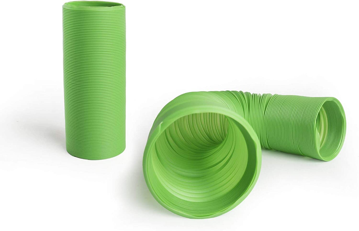 Niteangel Small Pet Fun Tunnel, 39 x 4 inches - Fit Adult Ferrets and Rats Green