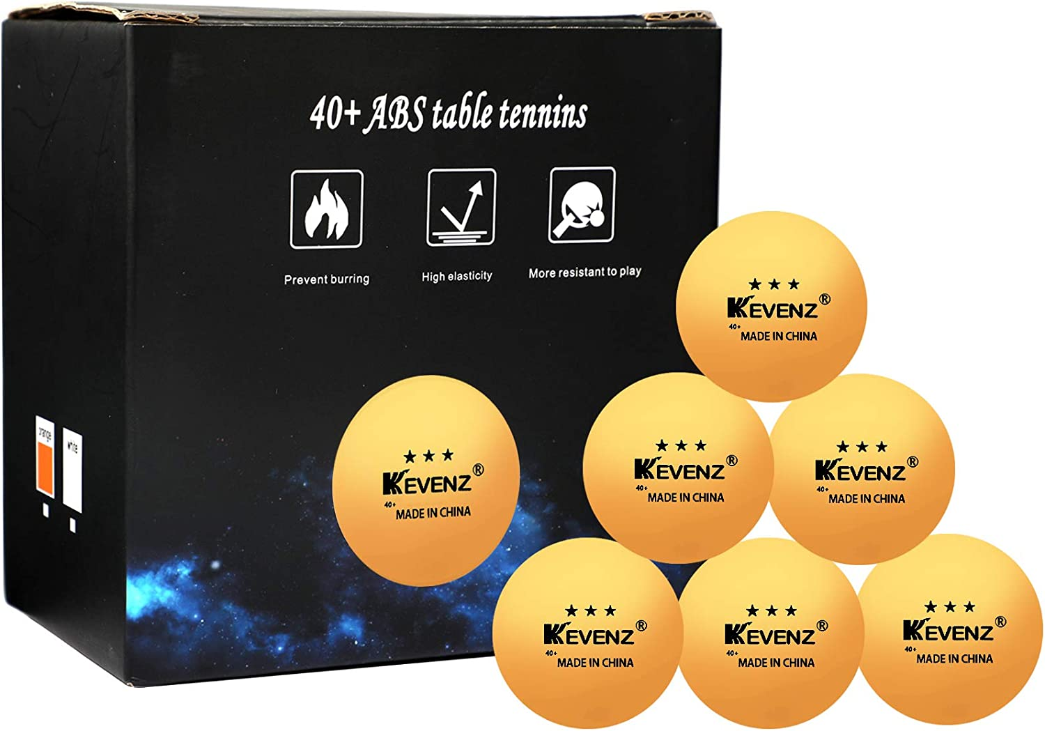 20 Ping Pong Balls 3 Stars Rating 40MM Olympic Table Tennis WHITE