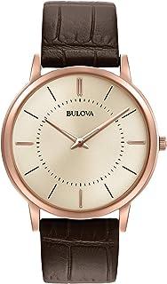 Bulova - Reloj Correa de piel Para Hombre