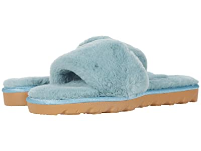 Chinese Laundry Rally (Mint Blue Faux Fur) Women